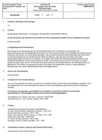 BRD GmbH HRB Auszug 51441