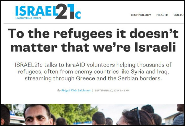 Israel heuchelt
