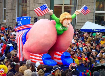 Merkel: ein Endprodukt der U.S.A!!!