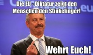 Stinkefinger der EU (1)