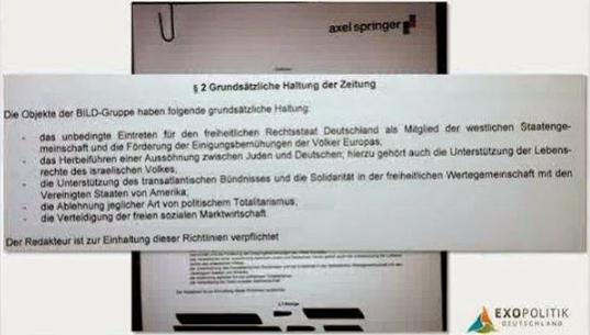 Axels - Springer Vertrag
