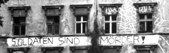 Tucholsky Zitat an Hauswand