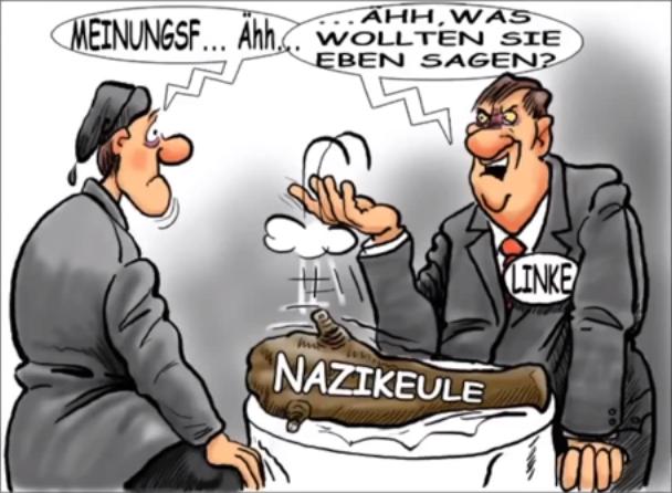 Die Nazikeule! (wenn Argumente fehlen!)