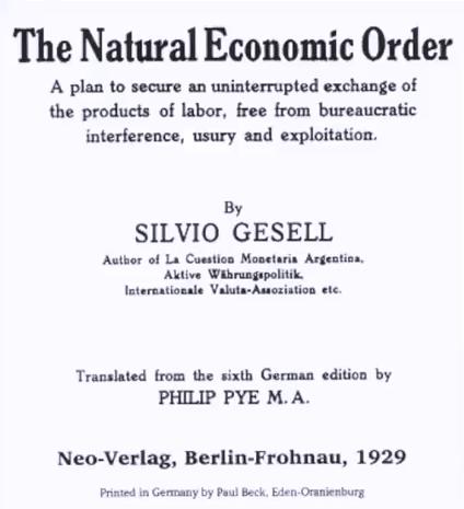 Sylvio Gesell