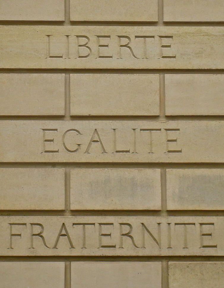 Liberte Fraternite Egalite