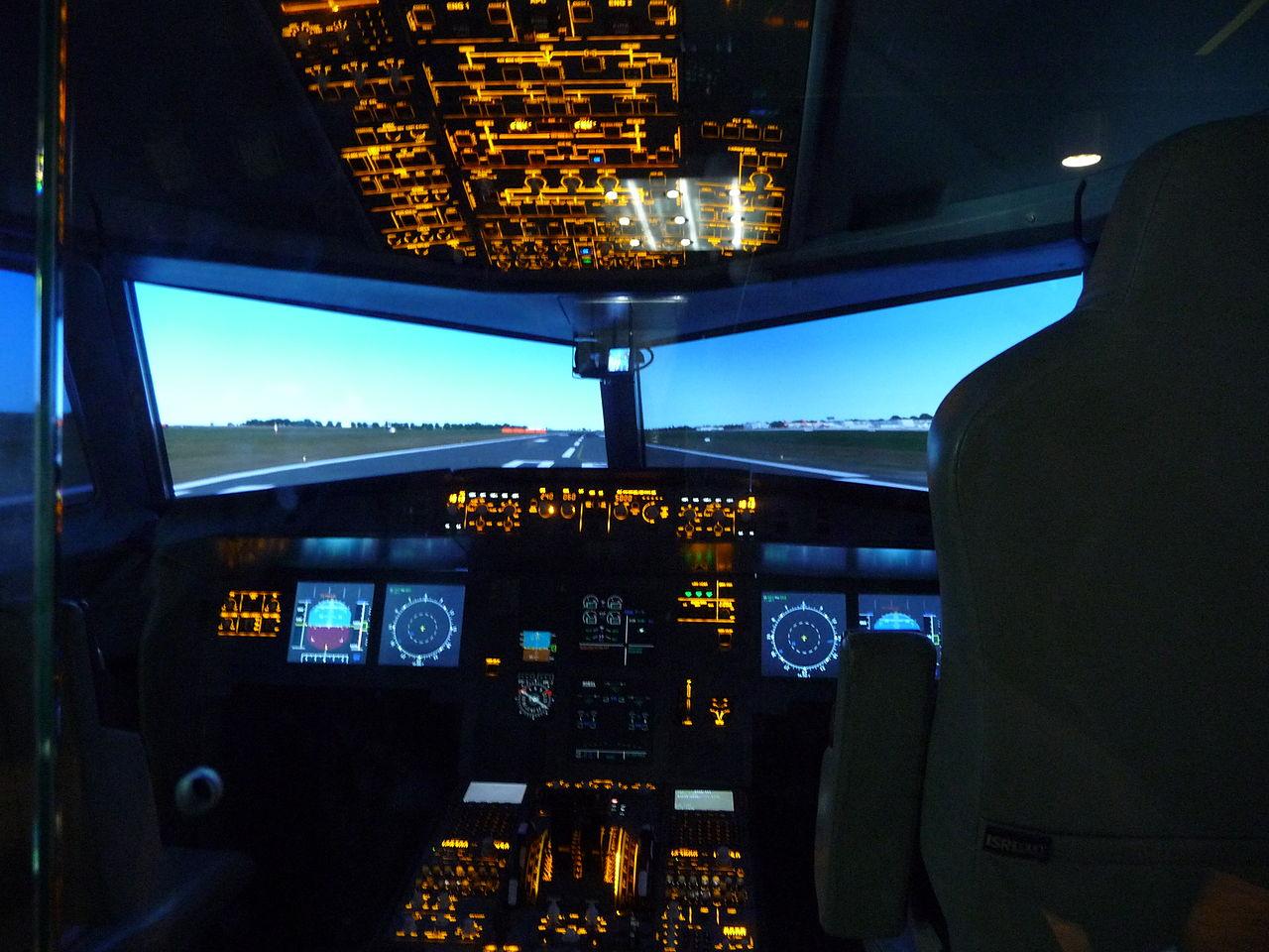 Sammeln & Seltenes Transport Reasonable Fotografie Flugzeug Flugsimulator Für Das Piloten-training