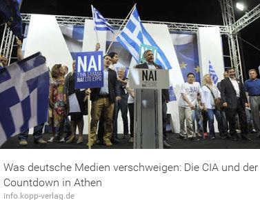 Der CIA und die grieschichen Wahlen