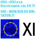 OXI - NEIN ZUR EU DIKTATUR