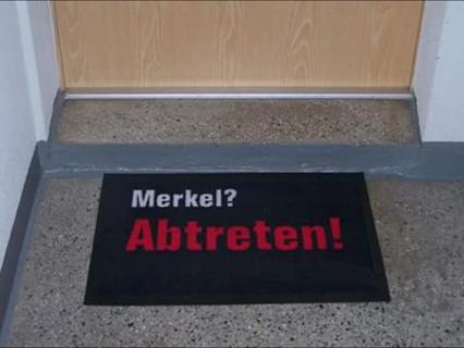 Merkel Abtreten