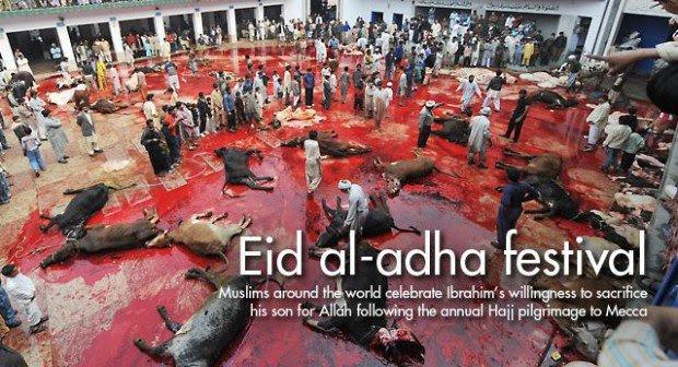 Barbarische Moslems