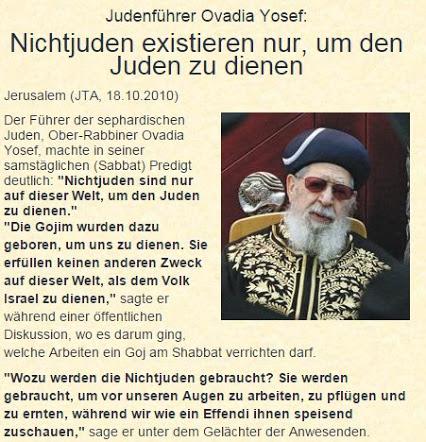 Goijim Sklaven der Zionisten
