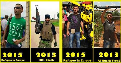 ISIS Terroristen in BRD als Flüchtlinge getarnt
