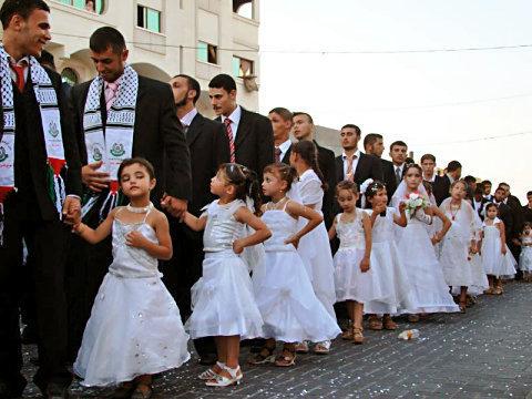 Muslimische Kinderhochzeiten