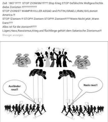 Zionismusspiel mit den Massen