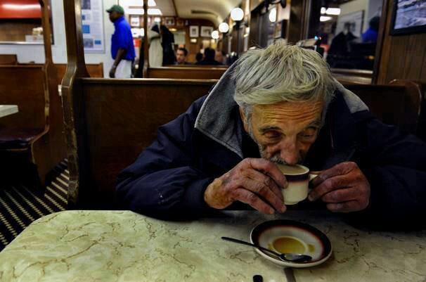 Aktion Kaffee für Obdachlose