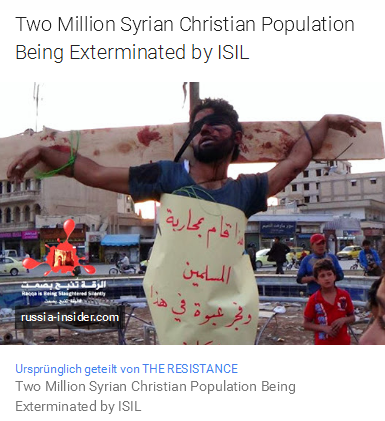 Two Million Syrian Christian Exterminated by IS