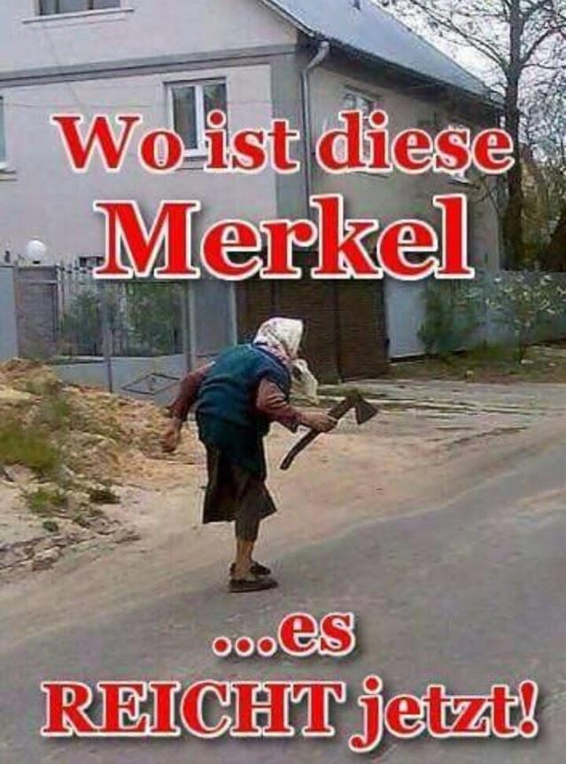 Wo ist diese Merkel