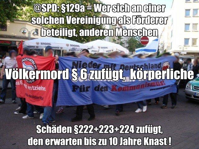 Anti Deutsche kriminelle Vereinigung