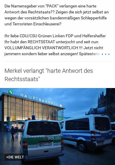 Merkels Verantwortung