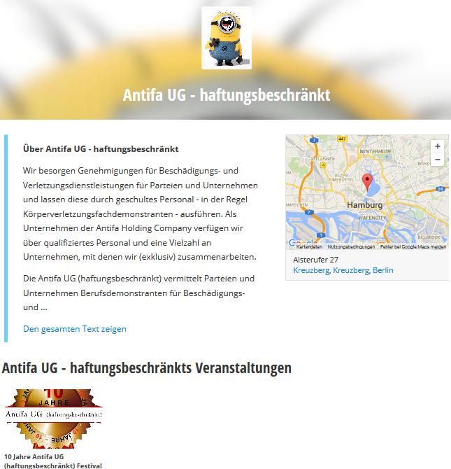 Antifa UG Haftungsbeschränkt2