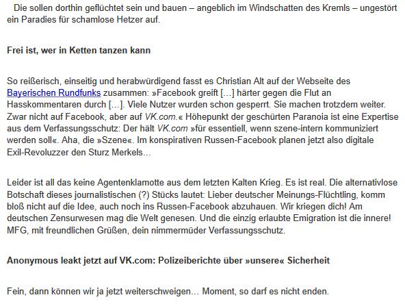 Deutsche flüchten zu VK2