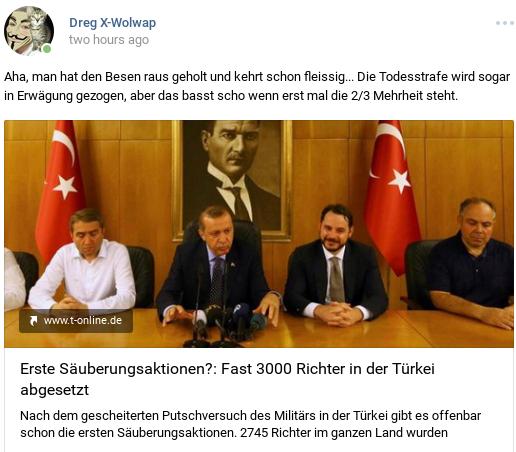 Erdogans Saeuberungsaktionen