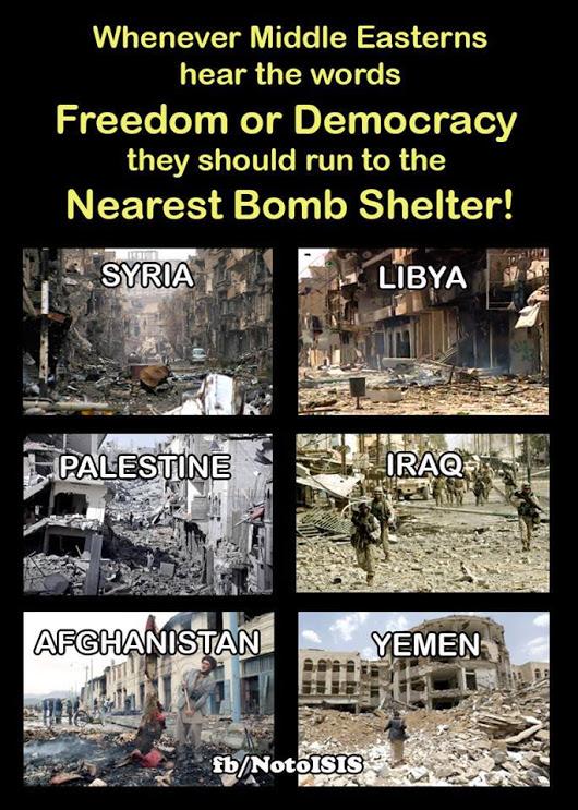 Freiheit für den Mittleren Osten
