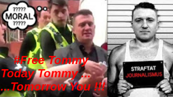 #Free Tommy ...Today Tommy Robinson ...Tomorrow You !!!!!