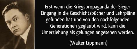 Lippman über die zionistische Umerziehung !!!