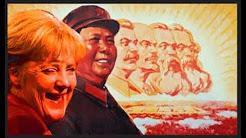 Merkel, Mao, Stalin, Lenin, Trotzky, Marx = ideologische Verwandte und Massenmörder !!!